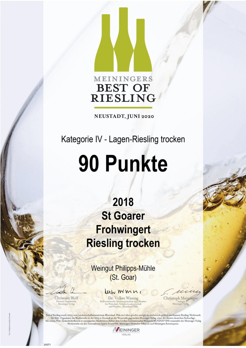 Best of Riesling Frohwingert